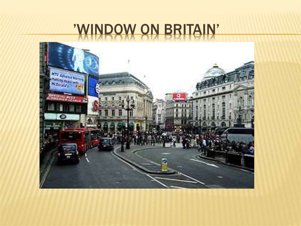 'Window on britain'