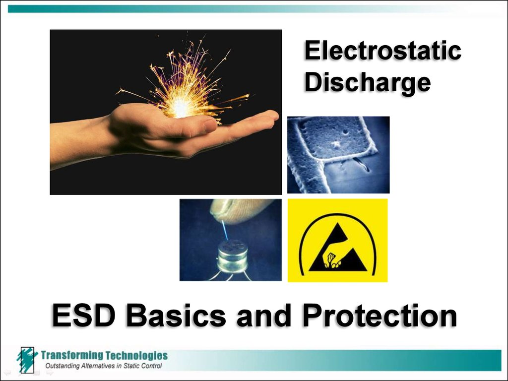 electrostatic discharge basics by transforming