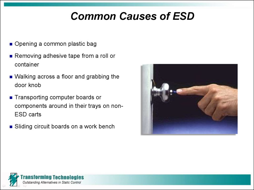 Common Causes of ESD