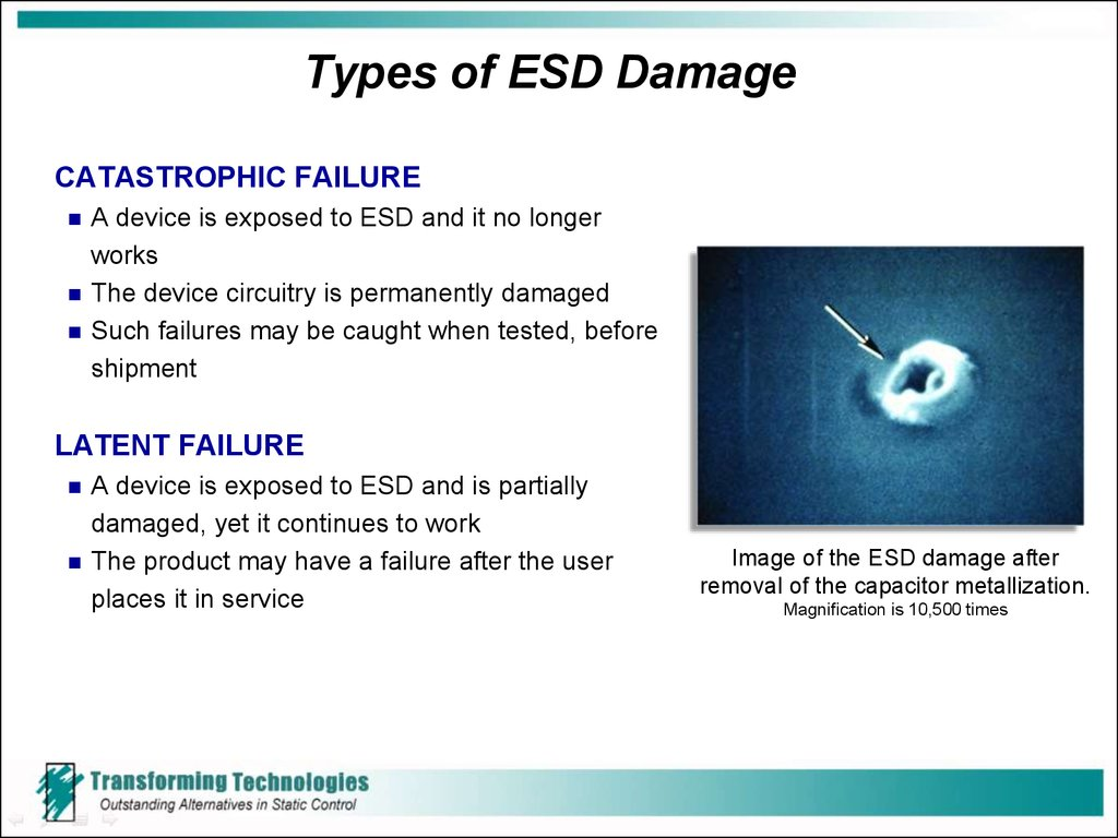 Types of ESD Damage