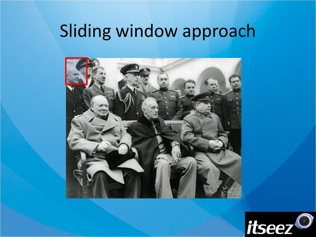 Sliding window approach