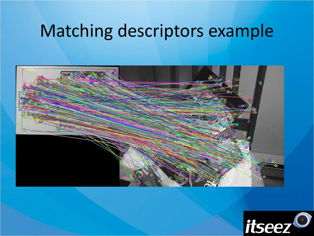 Matching descriptors example