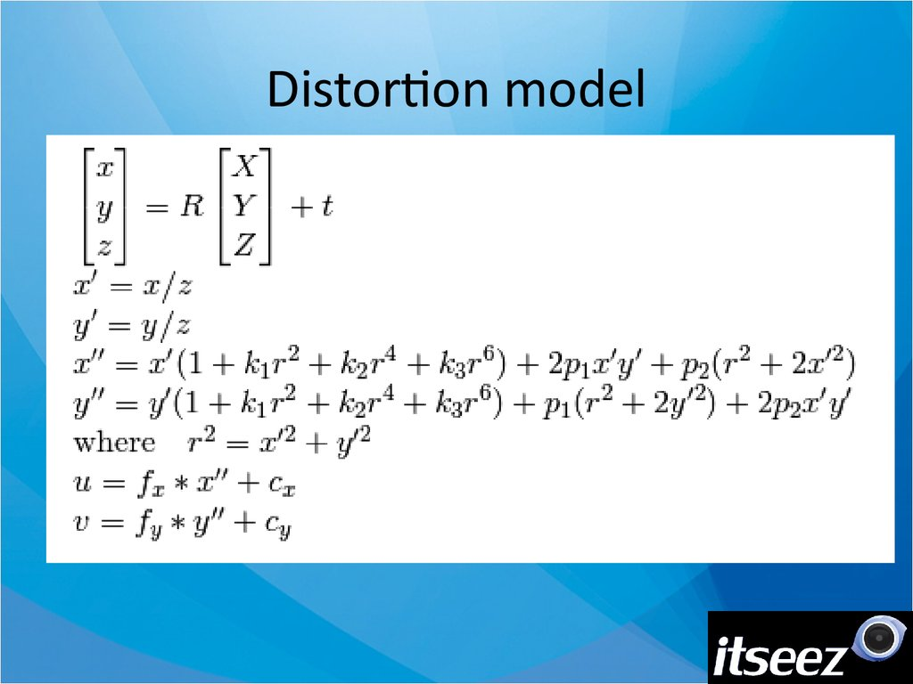 Distortion model