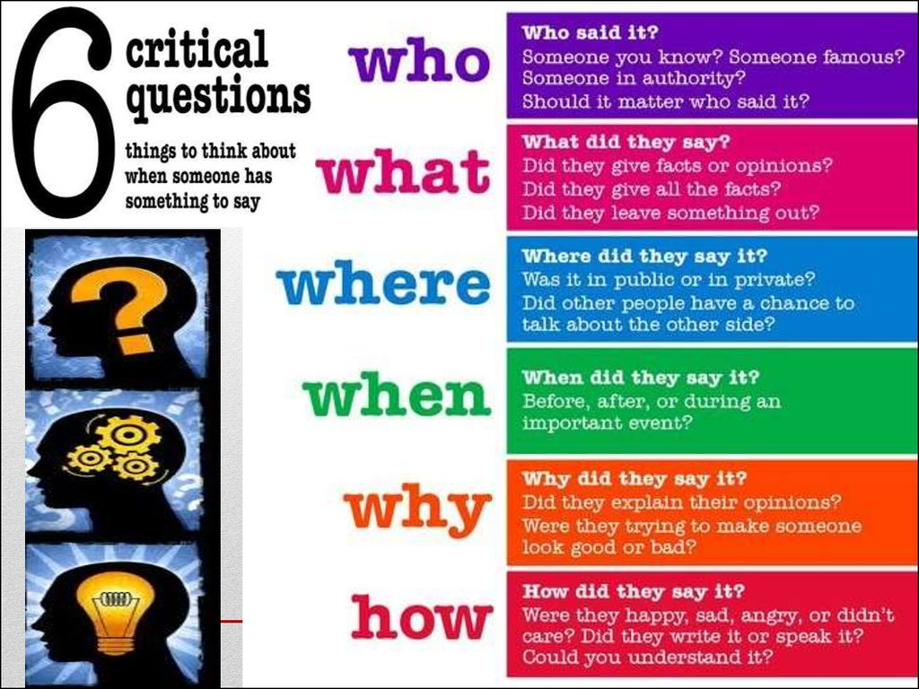 what are some methods of critical thinking Skills to pay the bills 98 problem solving and critical thinking everyone experiences problems from time to time some of our problems are big and complicated, while.