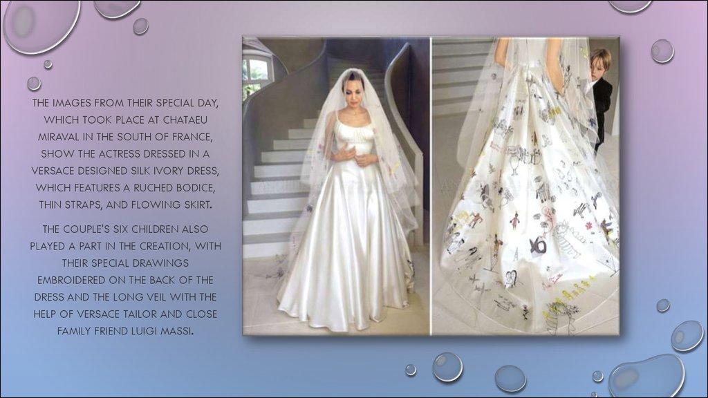 Brad Pitt Angelina Jolie Married Couple Wed In France Prezentaciya Onlajn