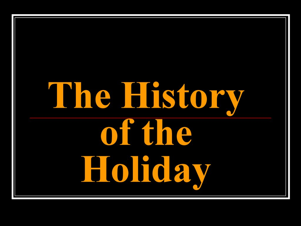 history of halloween timeline