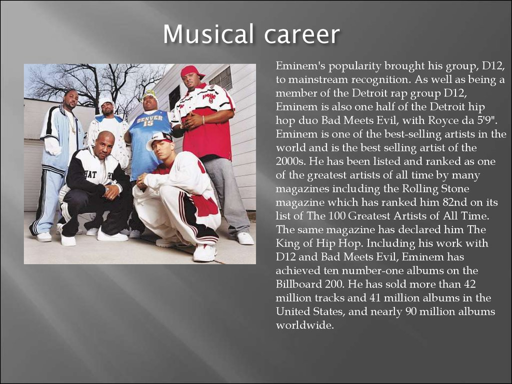 Musical career