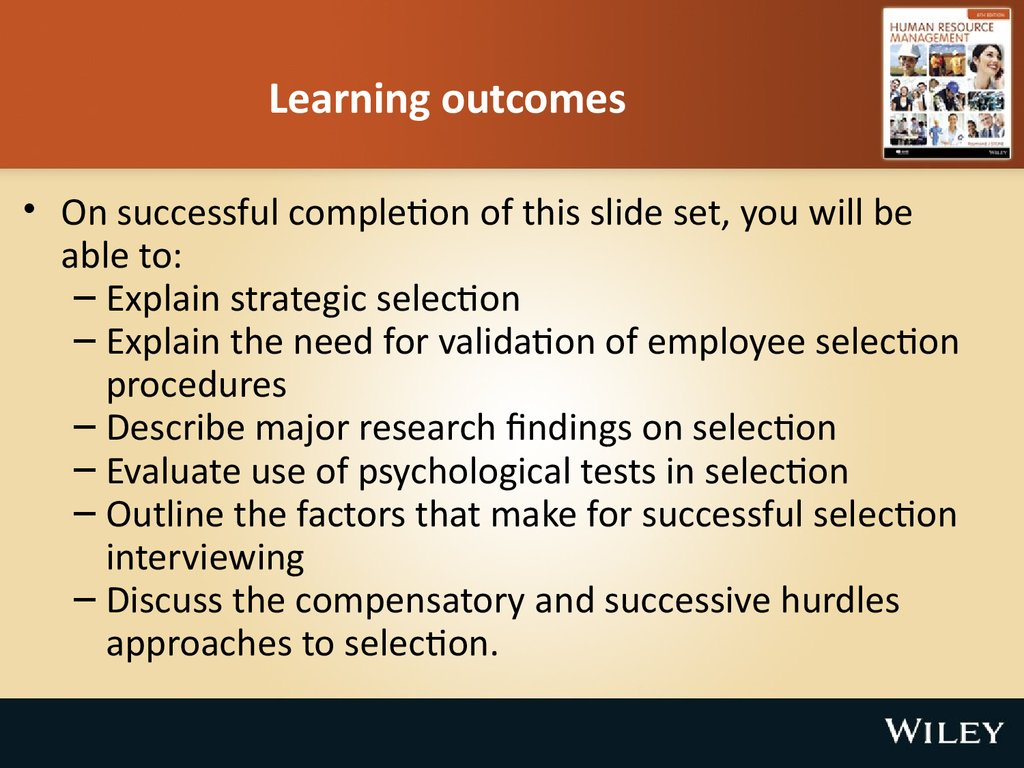 learning outcomes Writing learning outcomes one of the challenges that instructors face is writing meaningful learning outcomes that effectively communicate to students your expectations for your course.