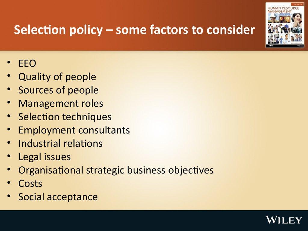 Troy University Online >> Employee selection. (Chapter 7) - презентация онлайн