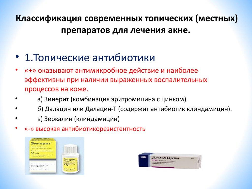 Антиандрогенные препараты для лечения акне