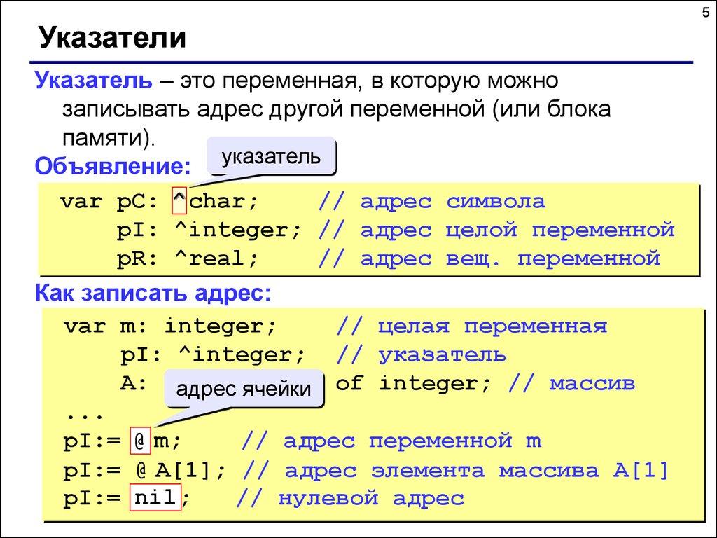 Структура данных в паскаль решение задач периодический экзамен охранников