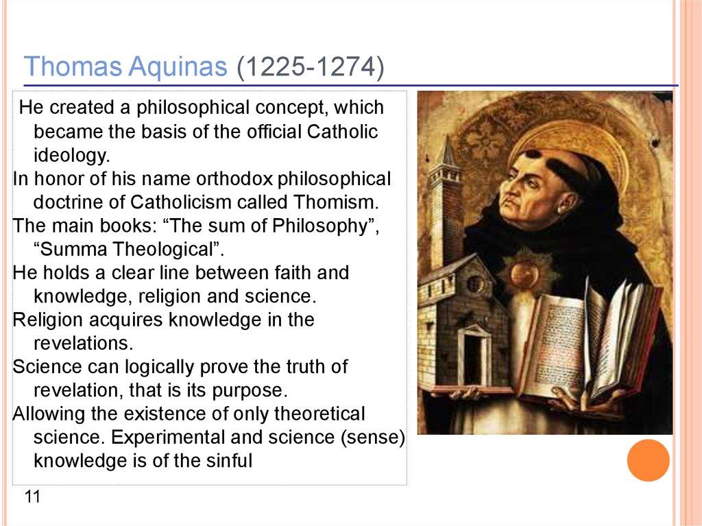Middle ages philosophy - online presentation
