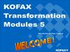 Kofax Transformation Modules 5. Introduction to Class Training