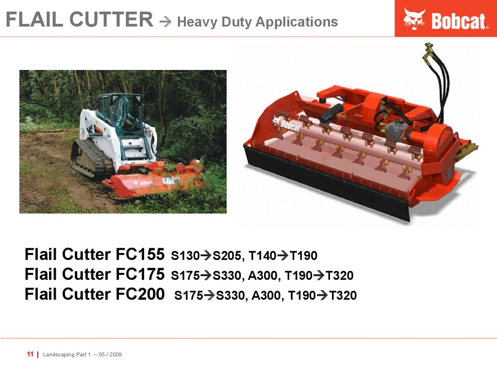 FLAIL CUTTER  Heavy Duty Applications