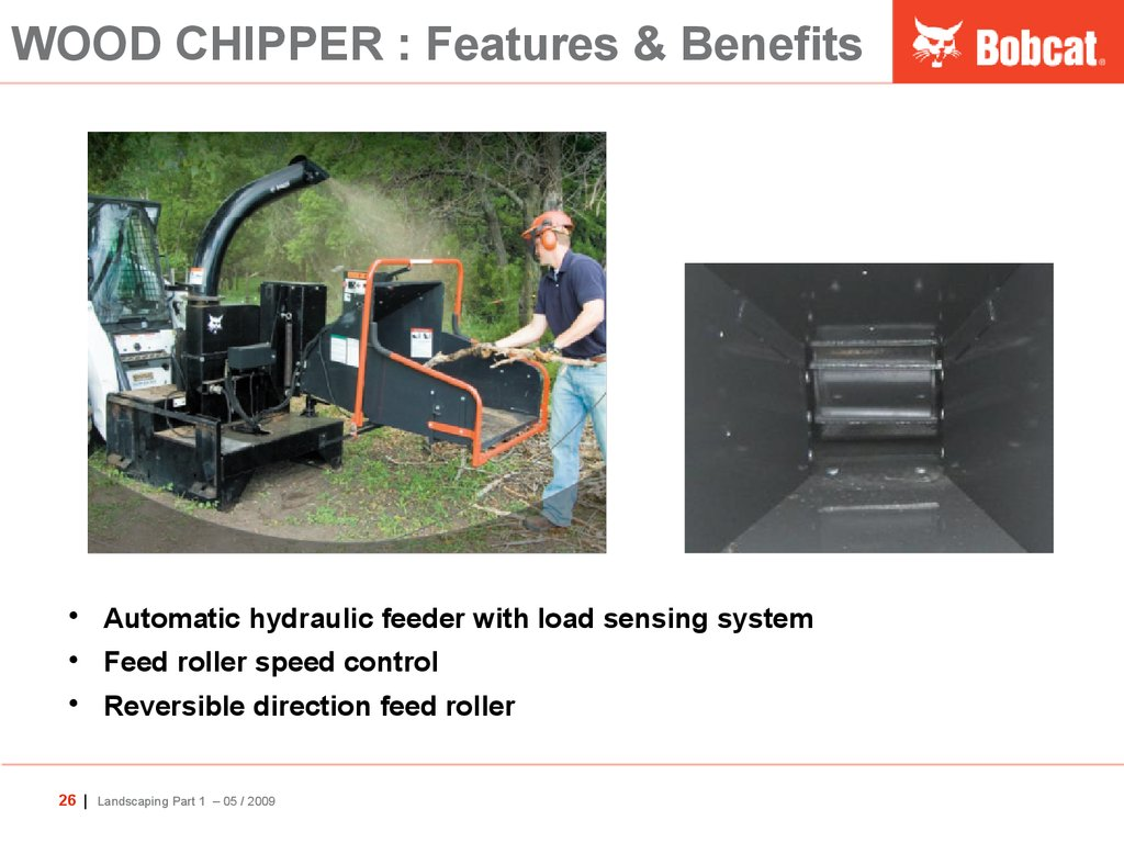 WOOD CHIPPER : Features & Benefits