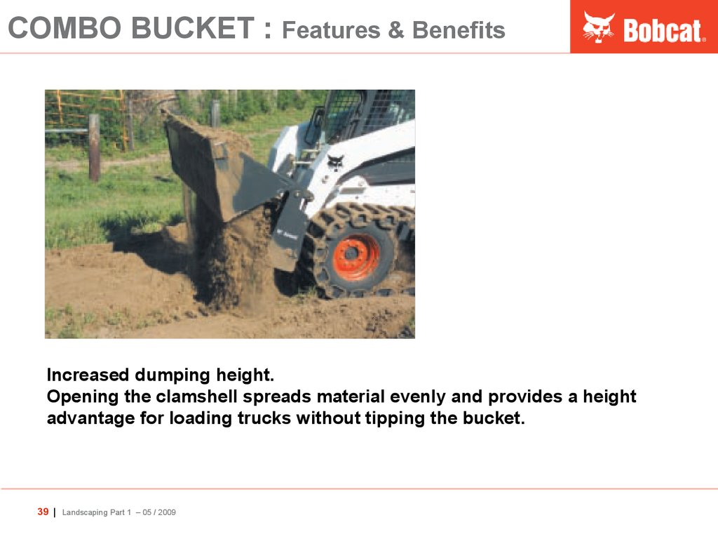 COMBO BUCKET : Features & Benefits