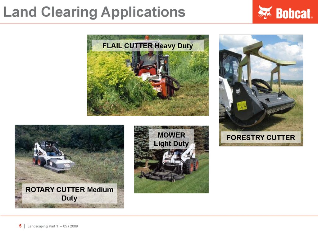 Land Clearing Applications