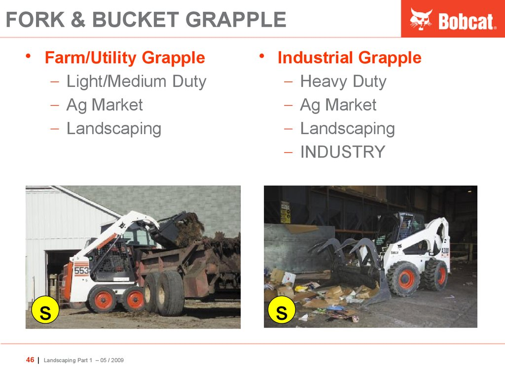 FORK & BUCKET GRAPPLE