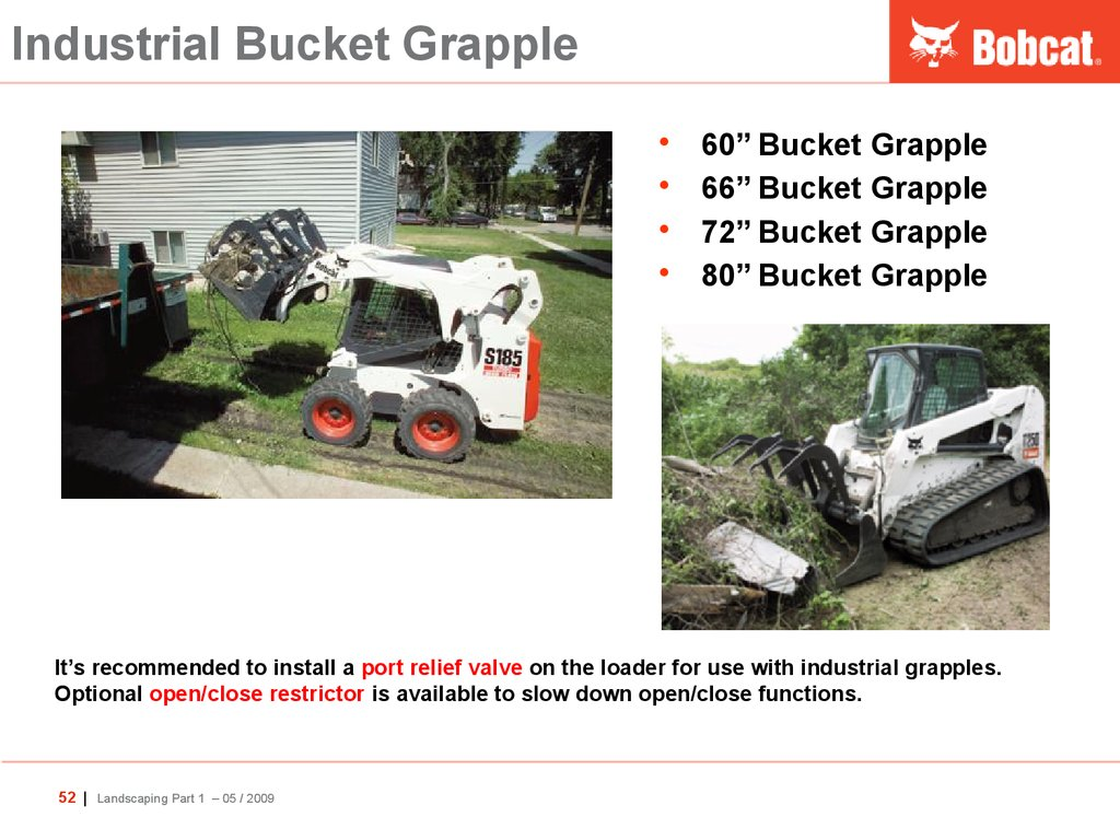 Industrial Bucket Grapple