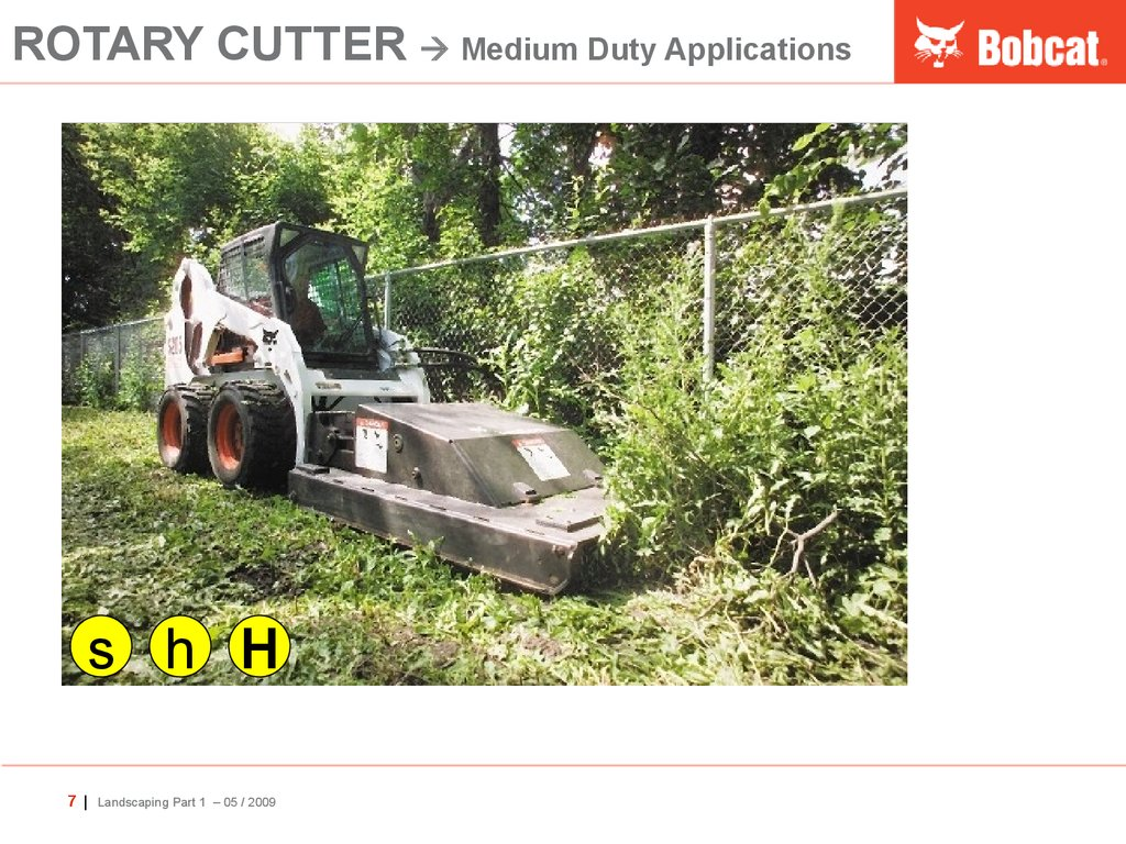 ROTARY CUTTER  Medium Duty Applications
