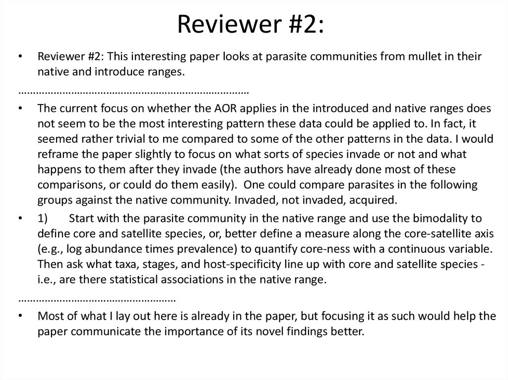 Reviewer #2: