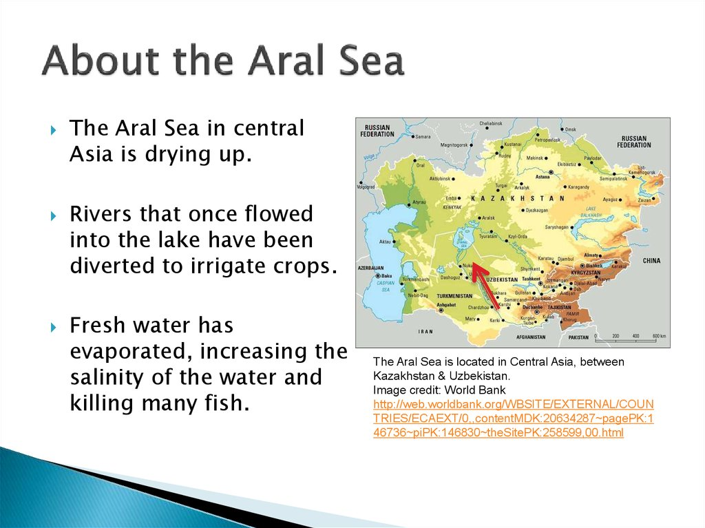 About the Aral Sea