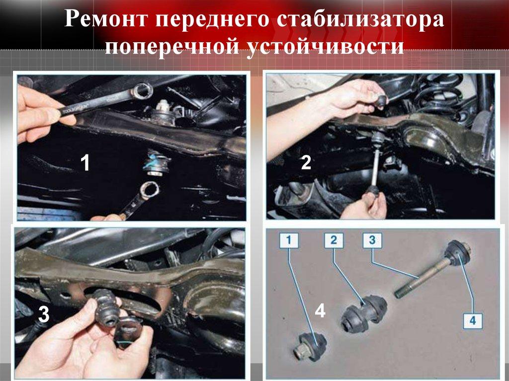 Техническое обслуживание и ремонт передней подвески реферат 4895