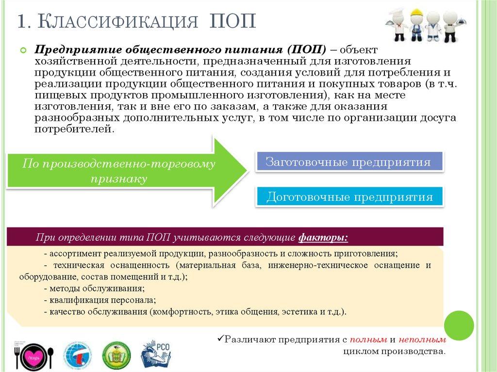 информационная база обслуживания предприятия общественного питания
