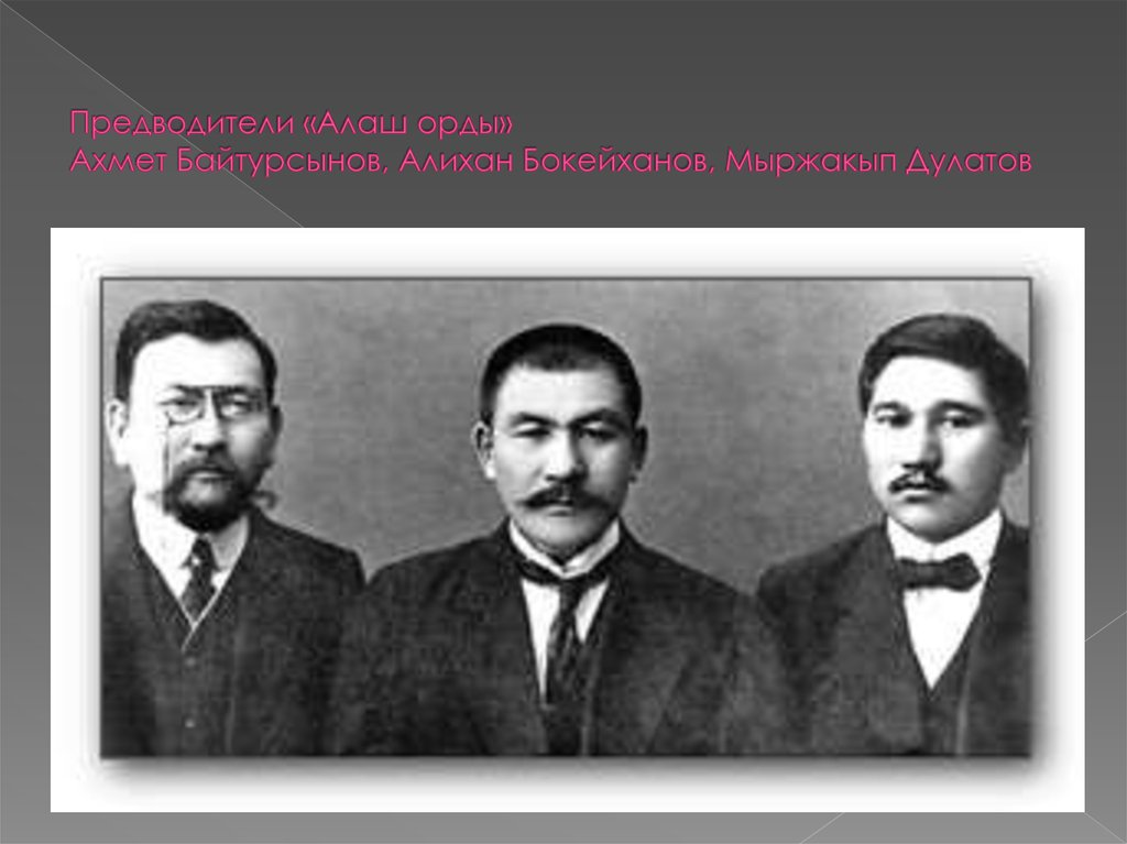 презентация на тему алихан букейханов
