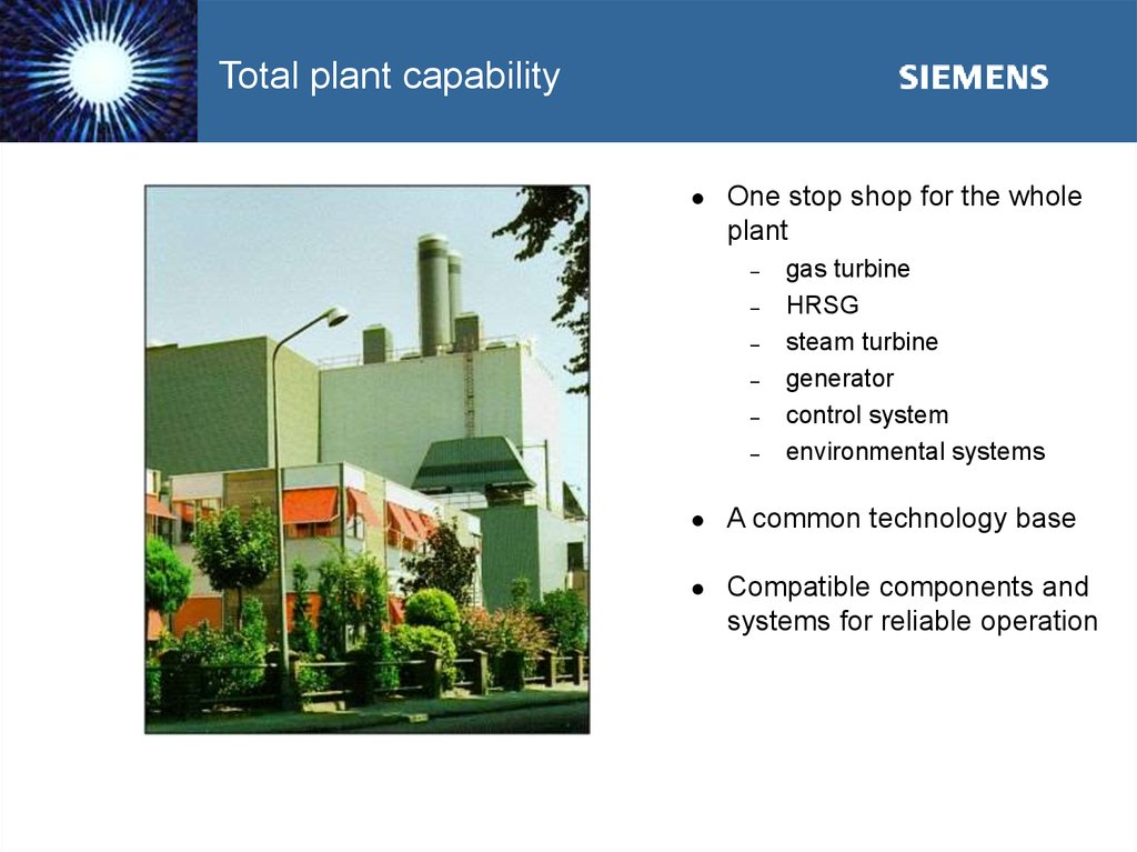 Total plant capability