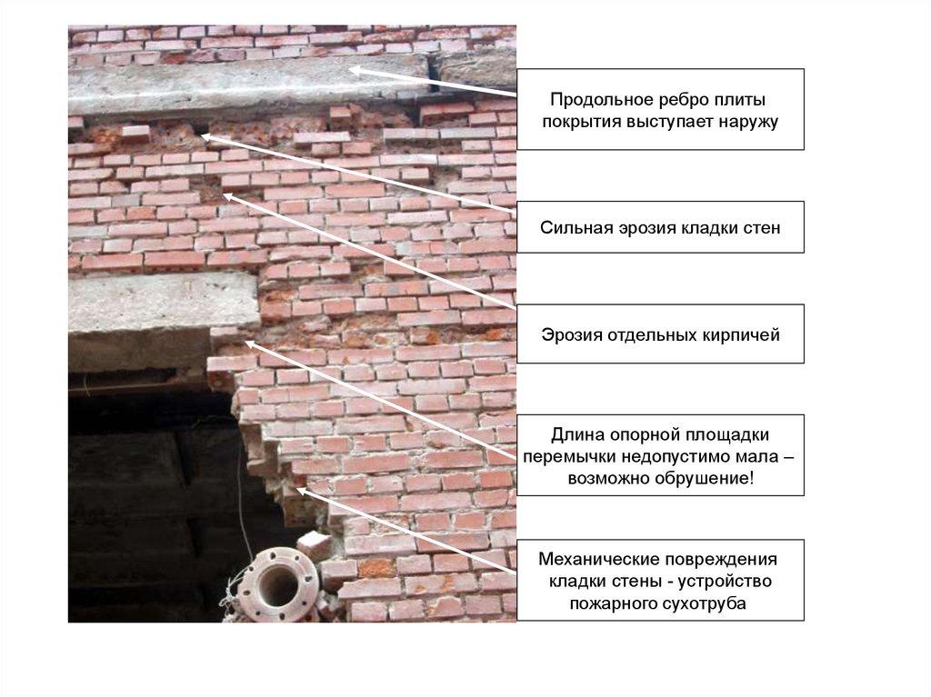 Вывалы бетона бетон купить в тюмень