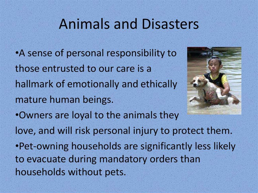 The Human-Animal Bond - online presentation