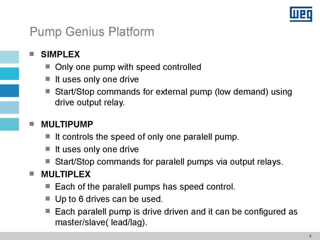 Pump Genius Application Functionalities For Control Of Pumps Lead Lag Wiring Diagram 3 Platform