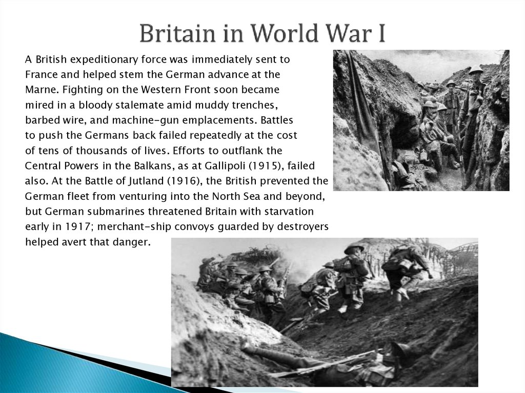 Britain in World War I