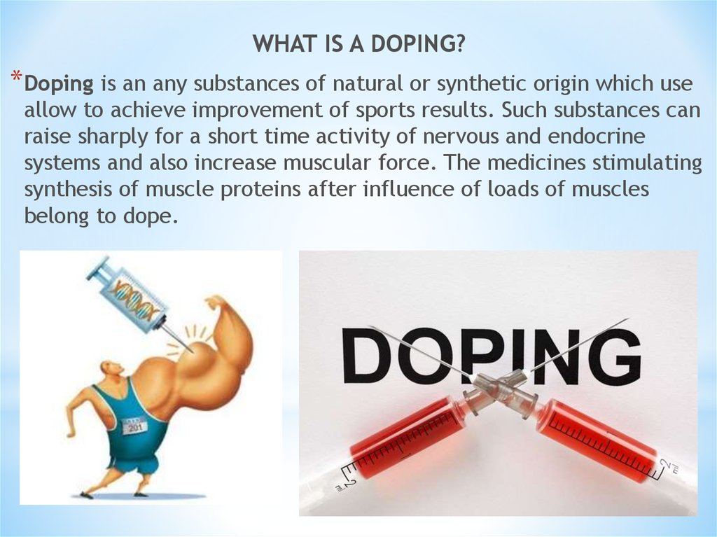 problems of doping in sport 1 introduction in recent times doping scandals have tarnished a number of sports these incidents pose threats to the integrity of sport, both nationally and on a global scale.