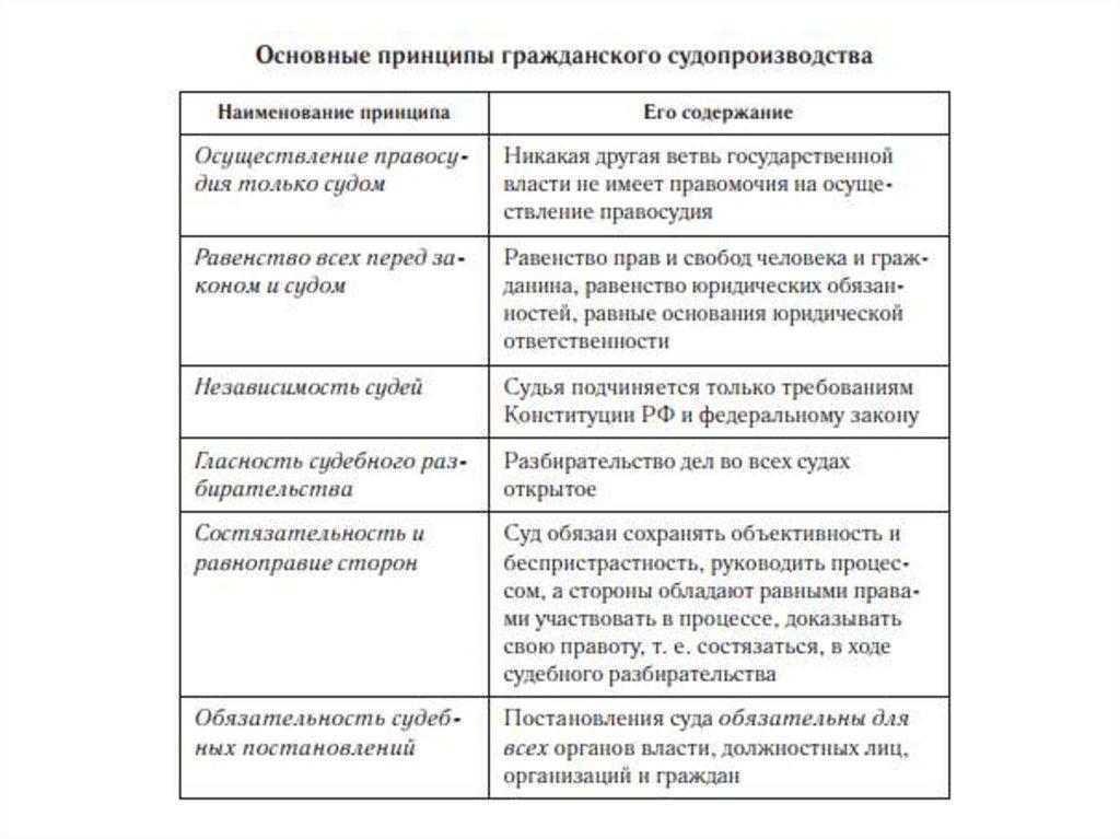 3 организационно_функциональные принципы гражданского процесса шпаргалка