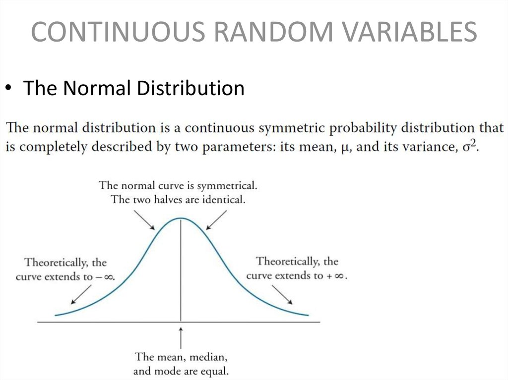 probability and continuous distribution In probability theory, a probability distribution is called continuous if its cumulative distribution function is continuous under an alternative and stronger definition, the term continuous probability distribution is reserved for distributions that have probability density functions.