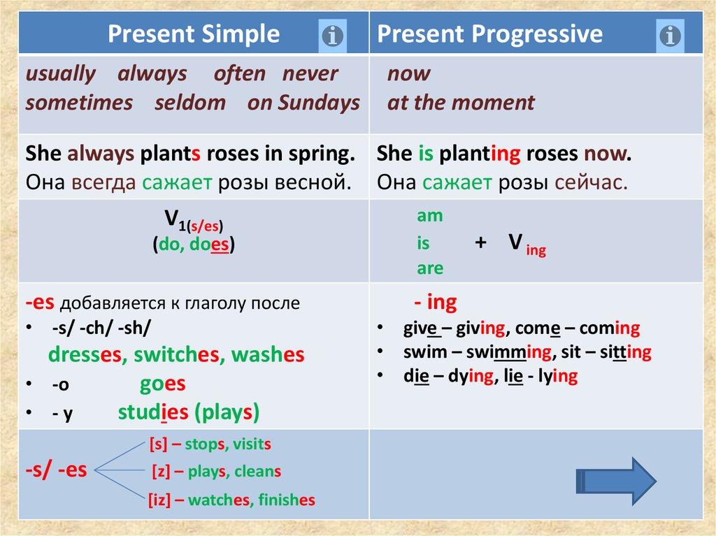 Картинки по запросу Present Simple - простое настоящее время
