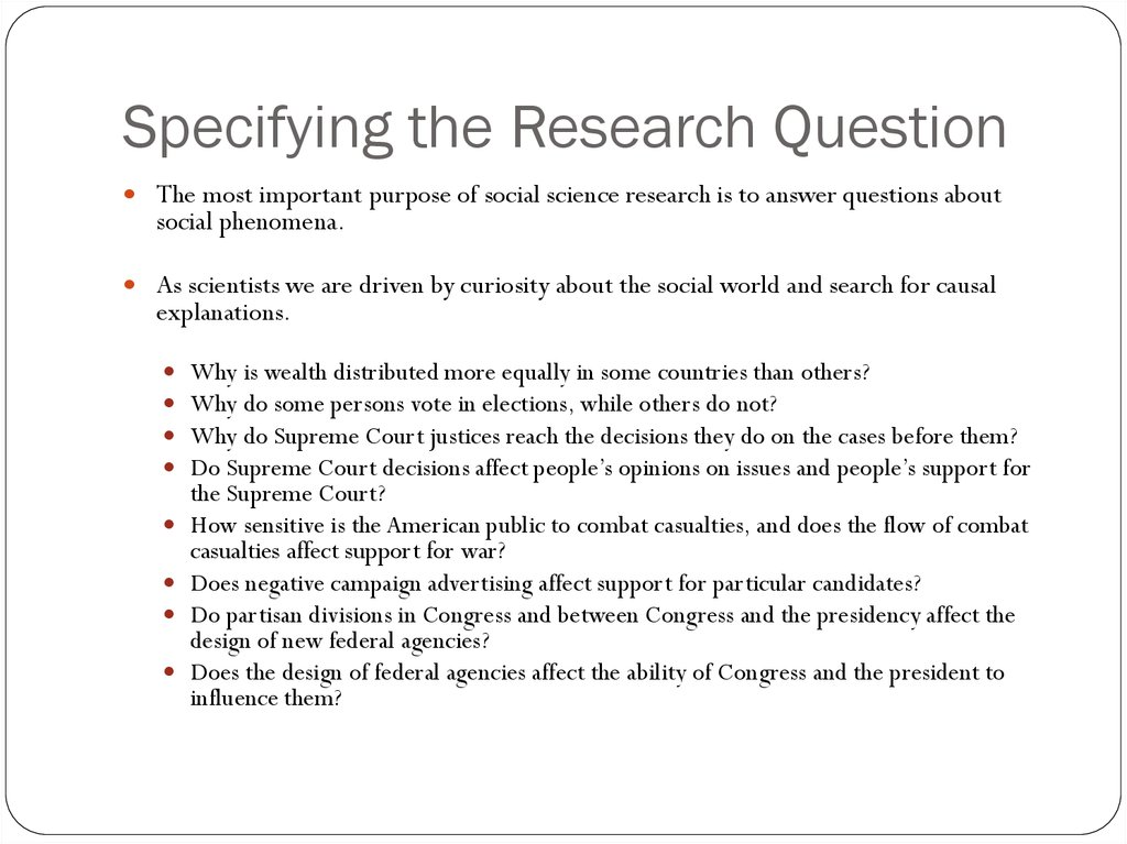 scientific research questions