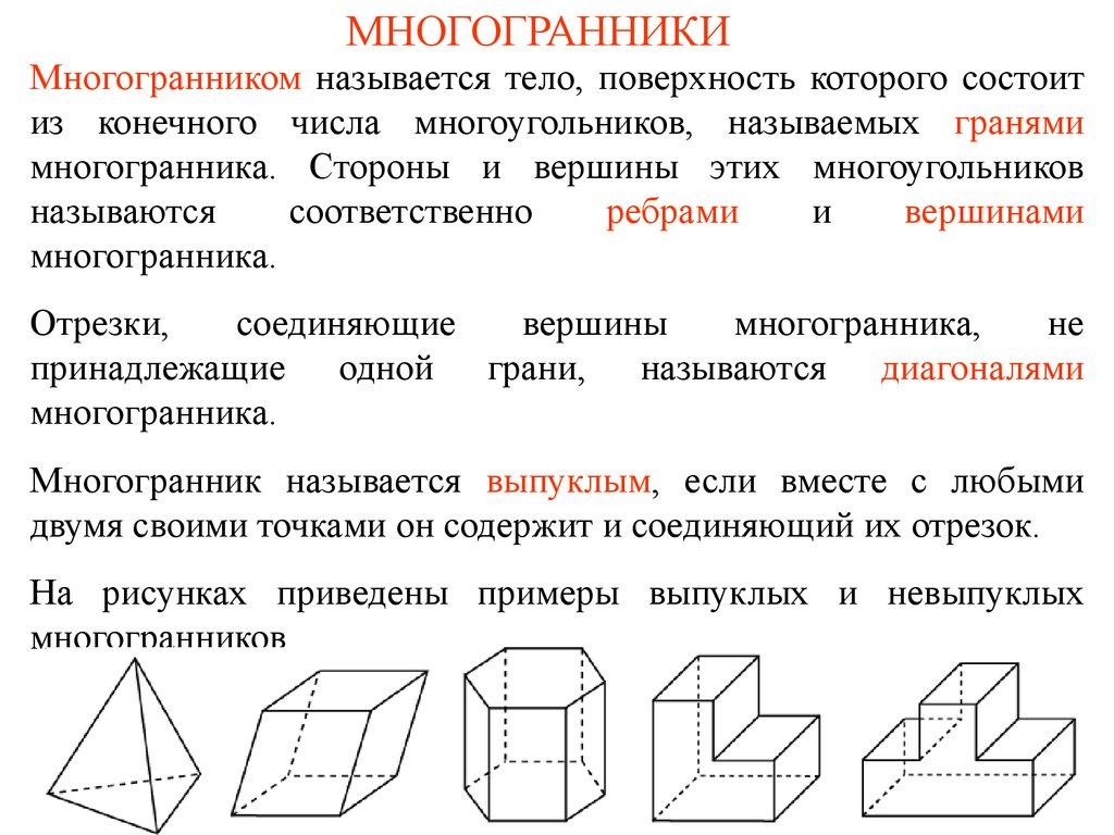 Задачи на многогранники с решением 11 класс решение задач с модулями 10 класс