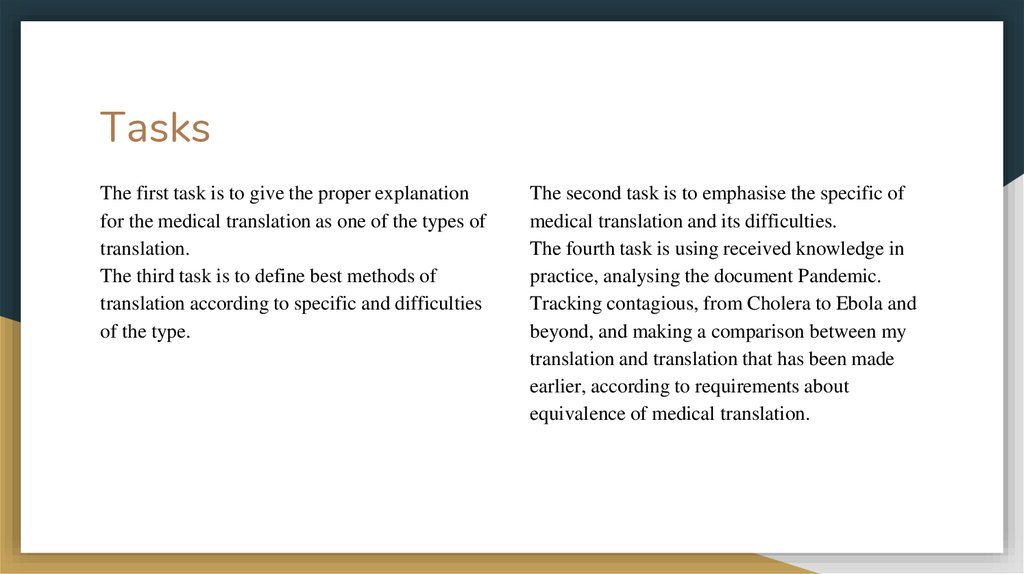 Medical Terminology  The Ways of Medical Texts' Translation