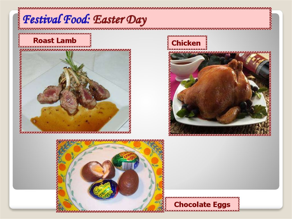 Festival Food: Easter Day