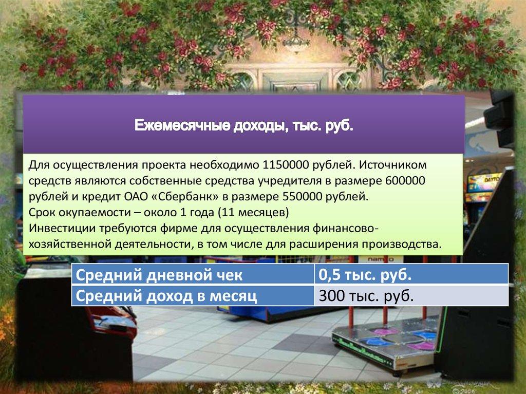 Бизнес план на 600000 рублей бизнес план на мед