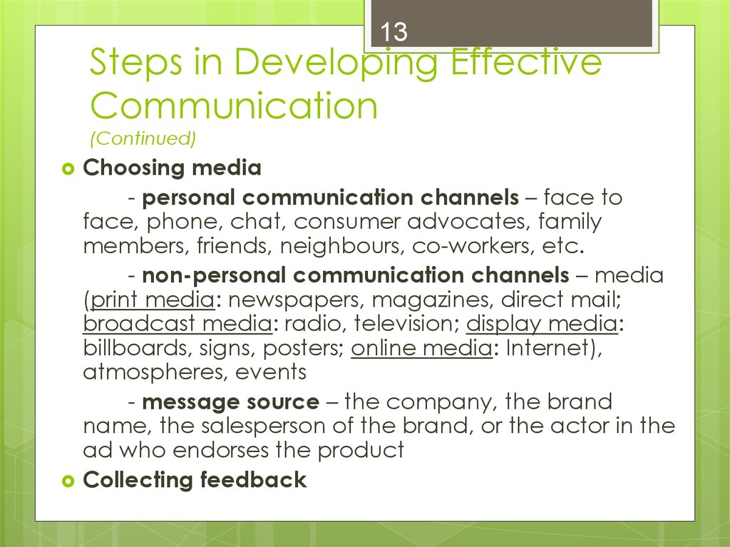 m1 developing effective communication The communication effective this is the focus of some of the assessment criteria and whilst the delivery concentrates on things which make communication effective, the learner needs to be aware of what negates that effectiveness some examples are given in lo2, but learners may pick up other things during this part of the unit.