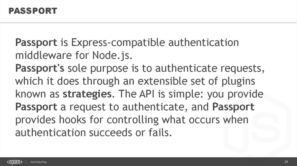MongoDB Authentication - online presentation