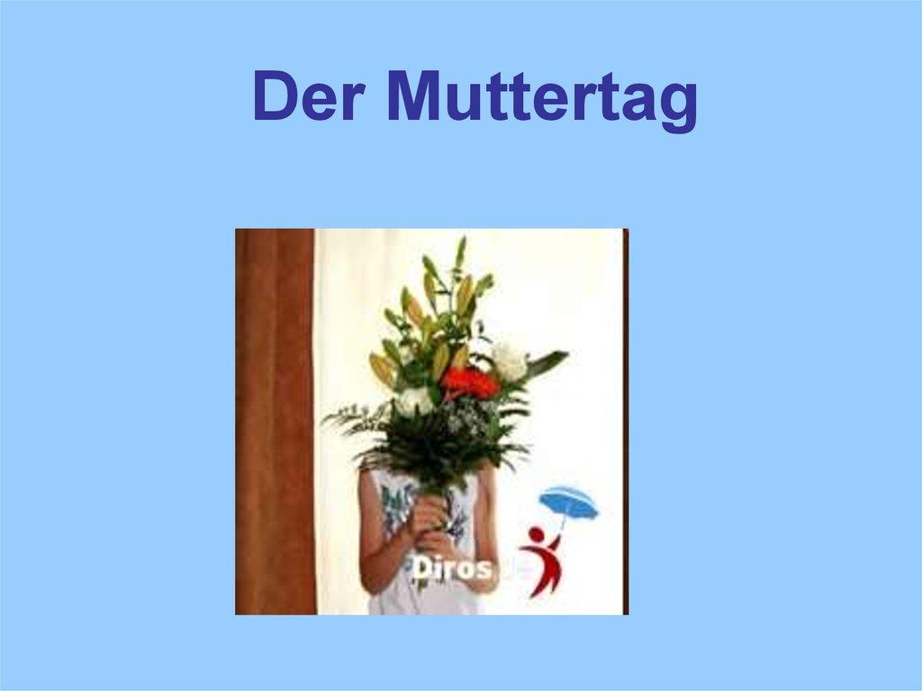 Der Muttertag Online Presentation