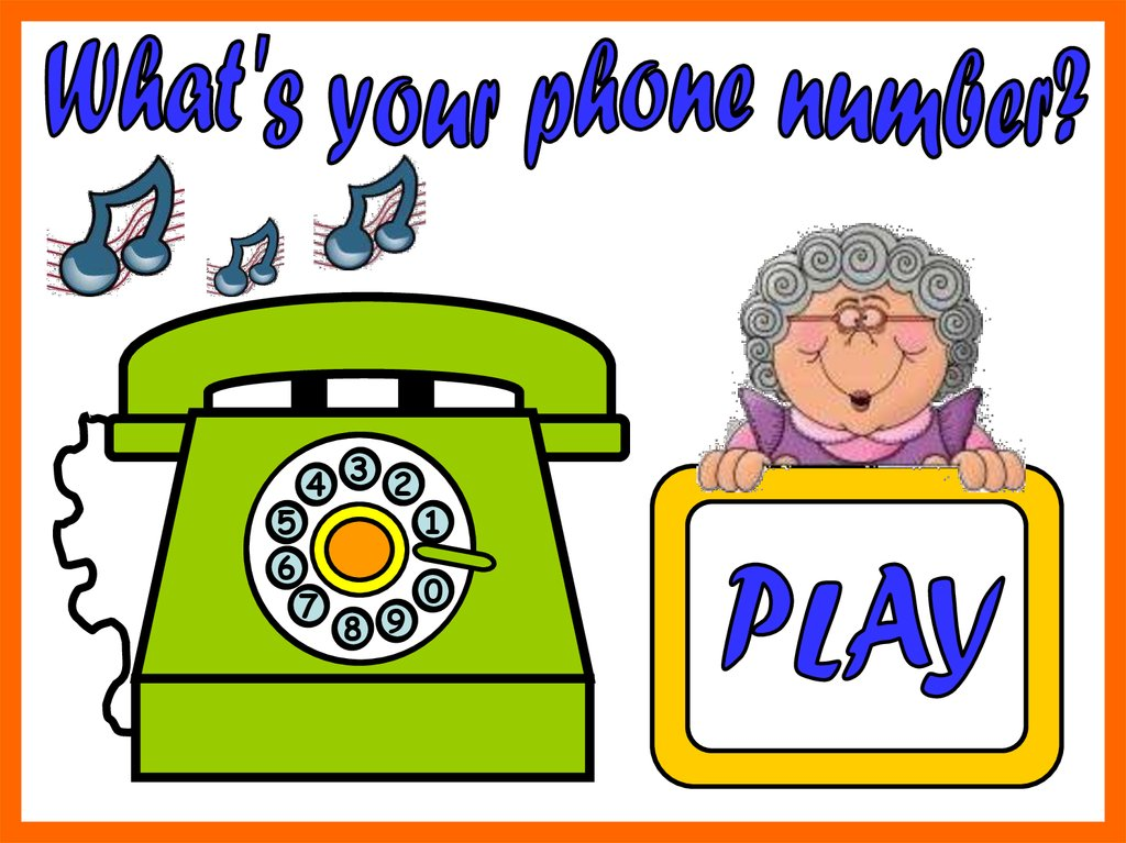 What's your phone number-2 - презентация онлайн
