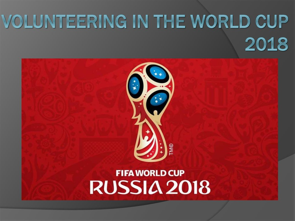 Volunteering in the World Cup 2018