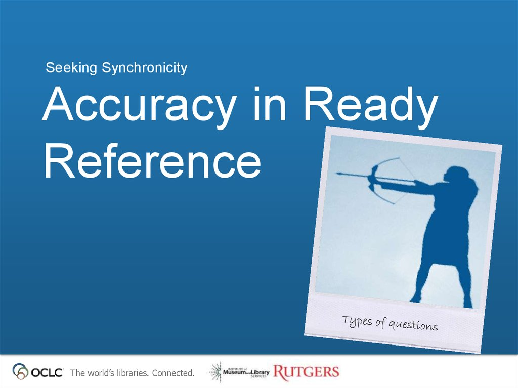 Accuracy in Ready Reference