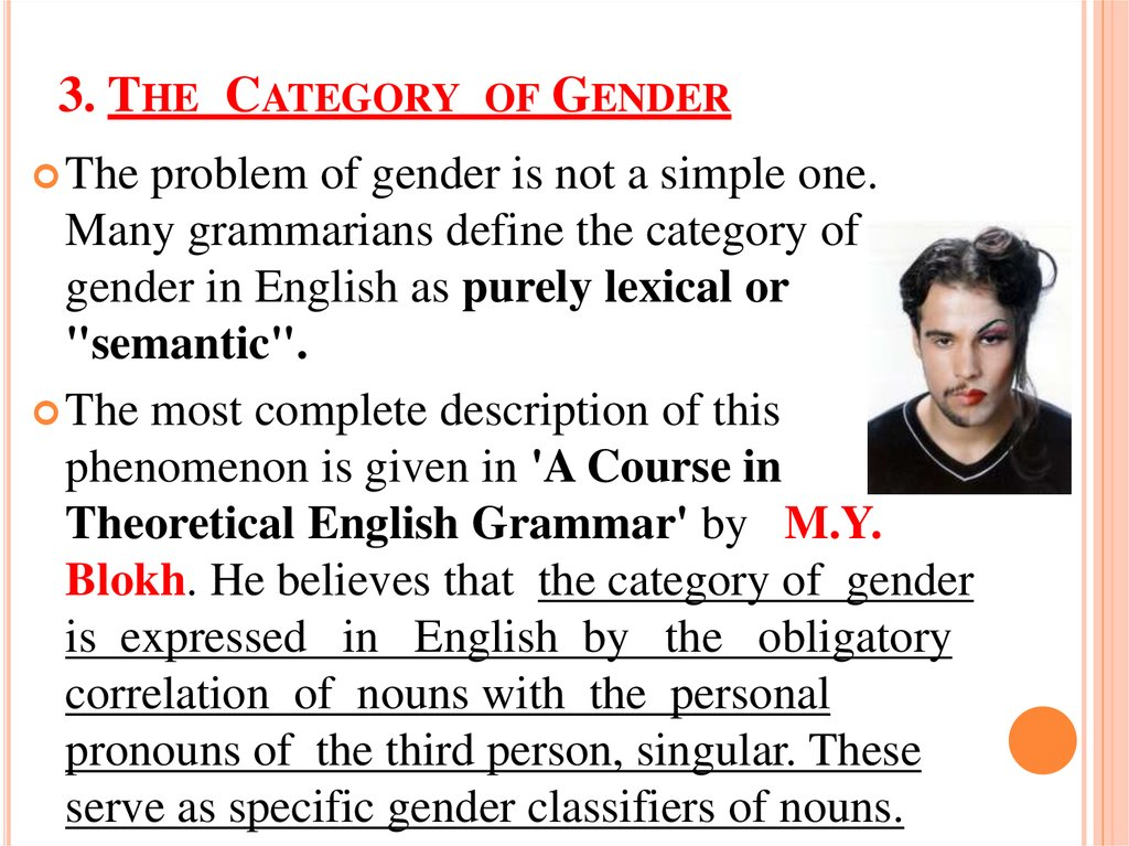 3. The Category of Gender